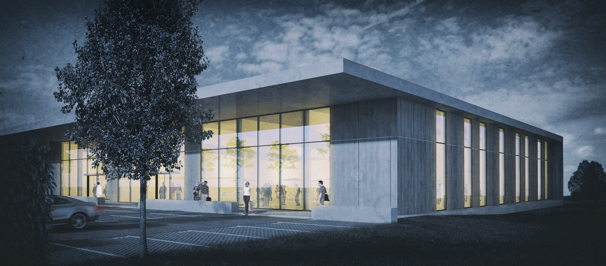 Anjana Perera Visualisierung - Bahnhofsgalerie Sigmaringen - Schaudt Architekten gmbh