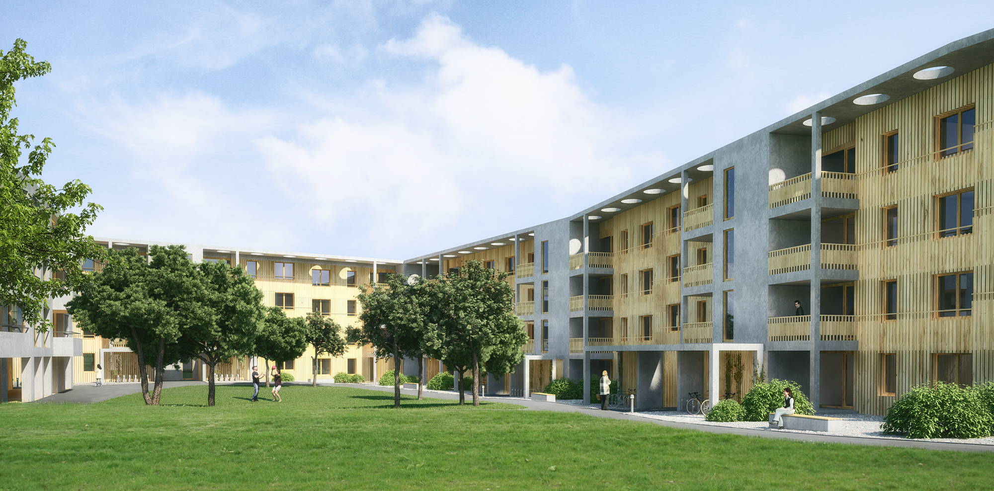 Anjana Perera Visualisierung - Sonnenfeld - Air Architekten AG, Kreuzlingen
