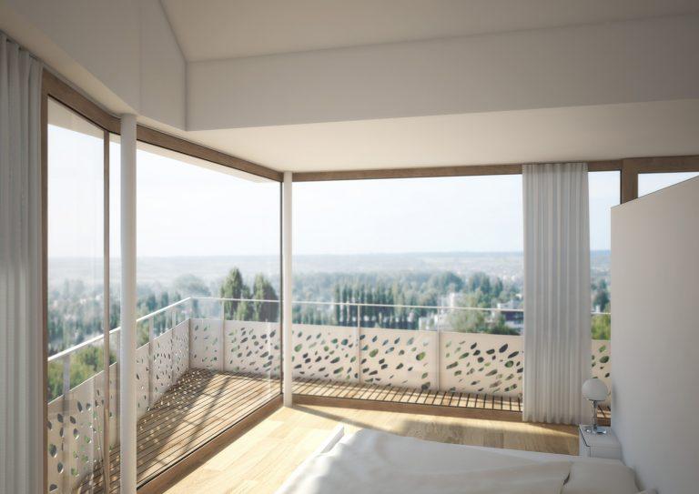 Anjana Perera Visualisierung - Schlafzimmer Jean Claude Mahler Architekt FH SWB, Kreuzlingen