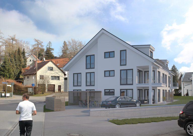 Anjana Perera Visualisierung - MFH in Bad Walssee - Baupunkt Weingarten