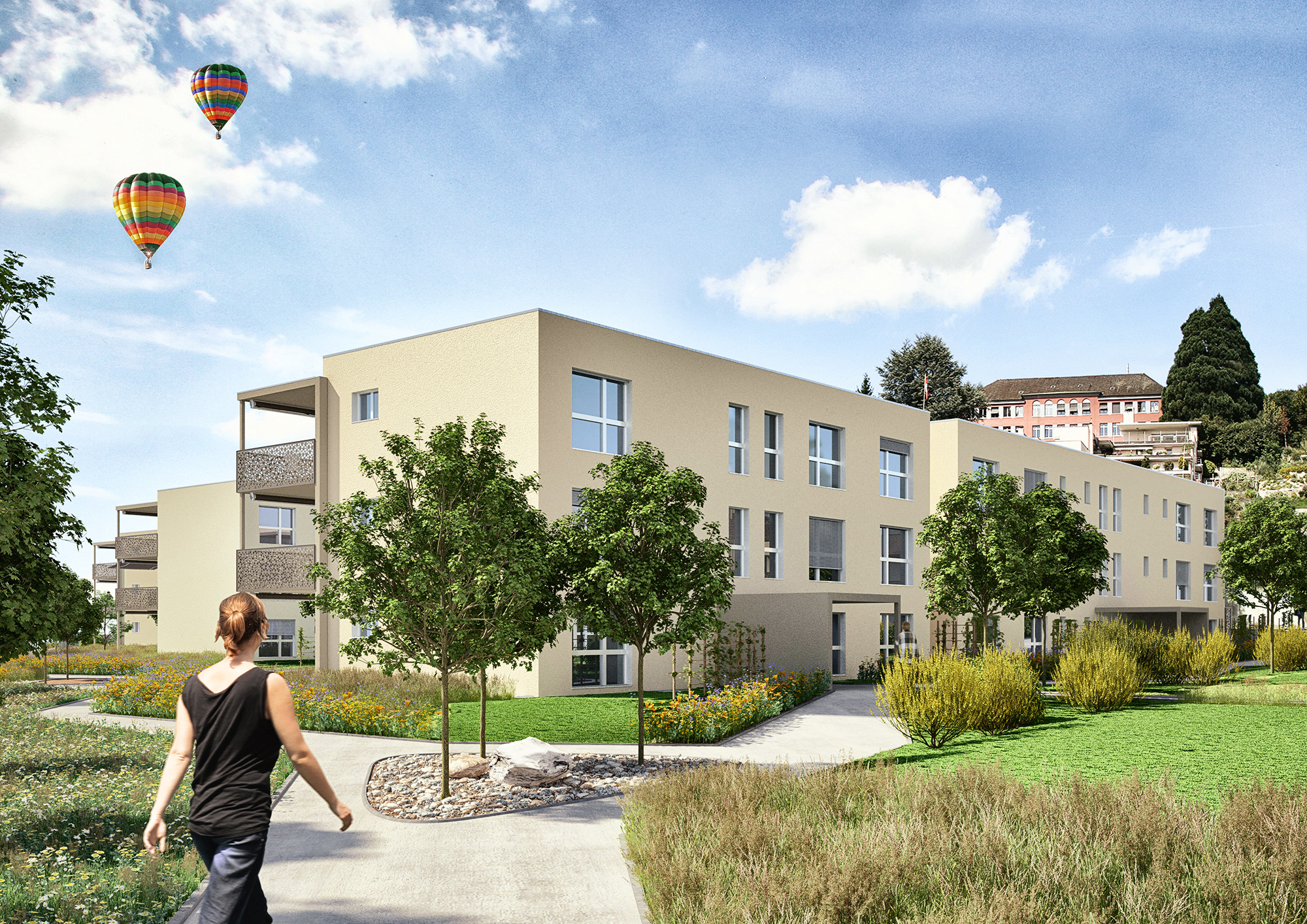 Anjana Perera Visualisierung - Jonerpark Klingnau -  Baugesellschaft Jonermatte, Bern