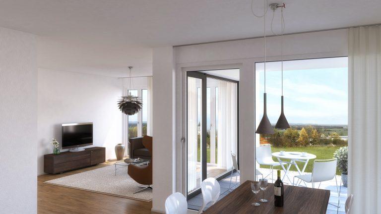 Anjana Perera Visualisierung - Wohnbebauung Aulendorf - BauPunkt
