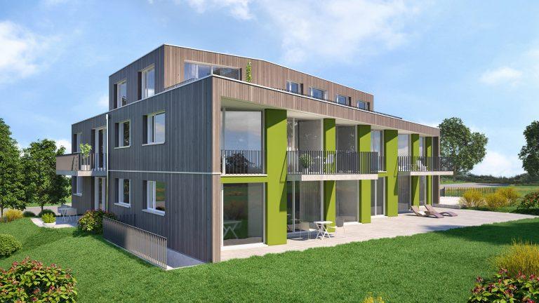 Anjana Perera Visualisierung - MFH Wisli Steckborn - HM-Architektur AG, Kreuzlingen
