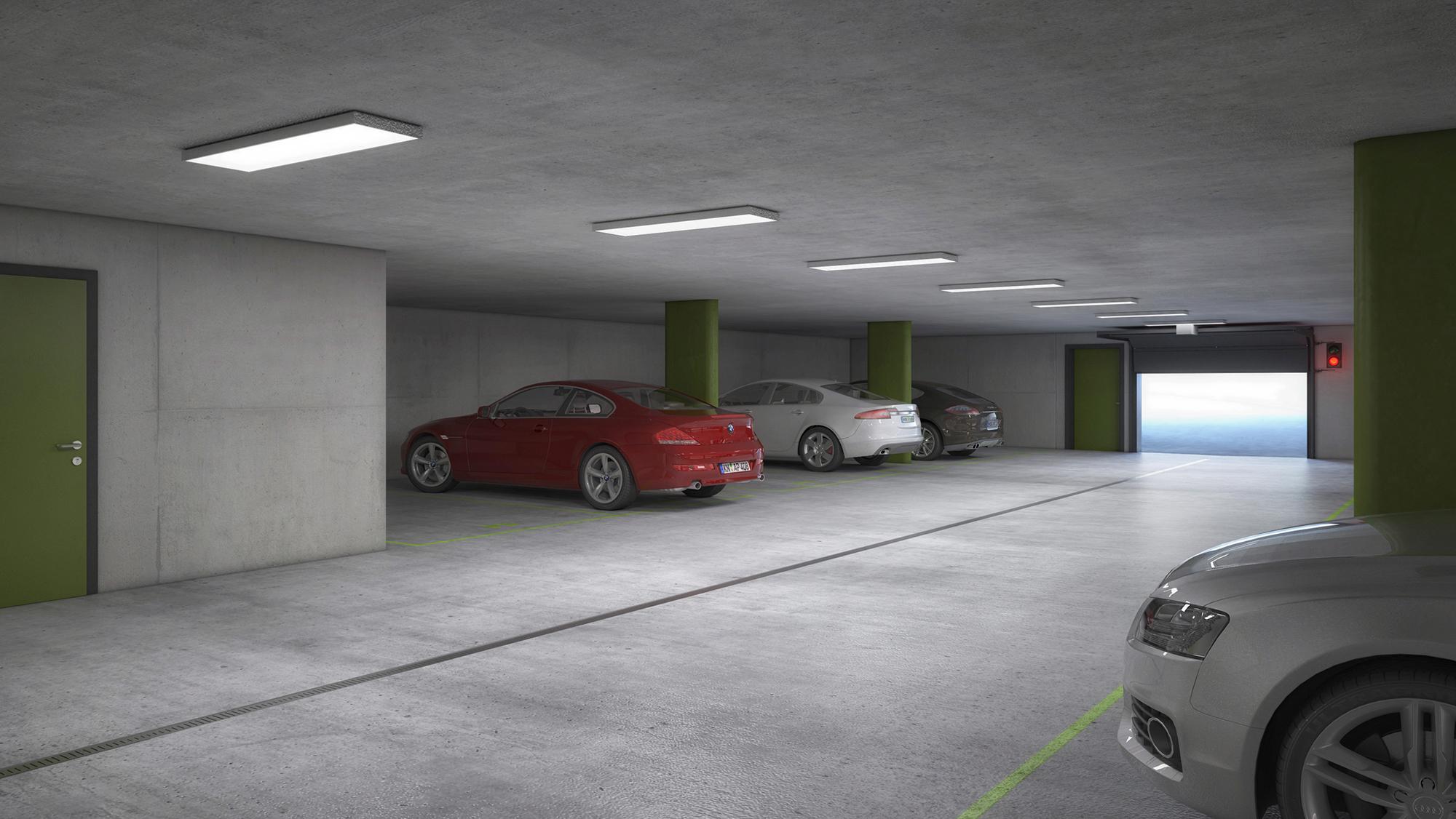 Anjana Perera Visualisierung -  Tiefgarage Wisli in Steckborn HM-Architektur AG, Kreuzlingen