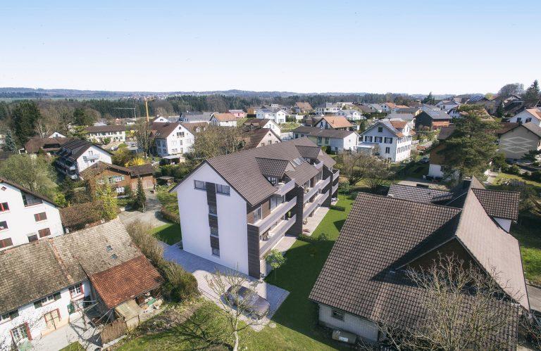 Anjana Perera Visualisierung - MFH Wigoltingen für Rupp Architektur - Immoinvest AG
