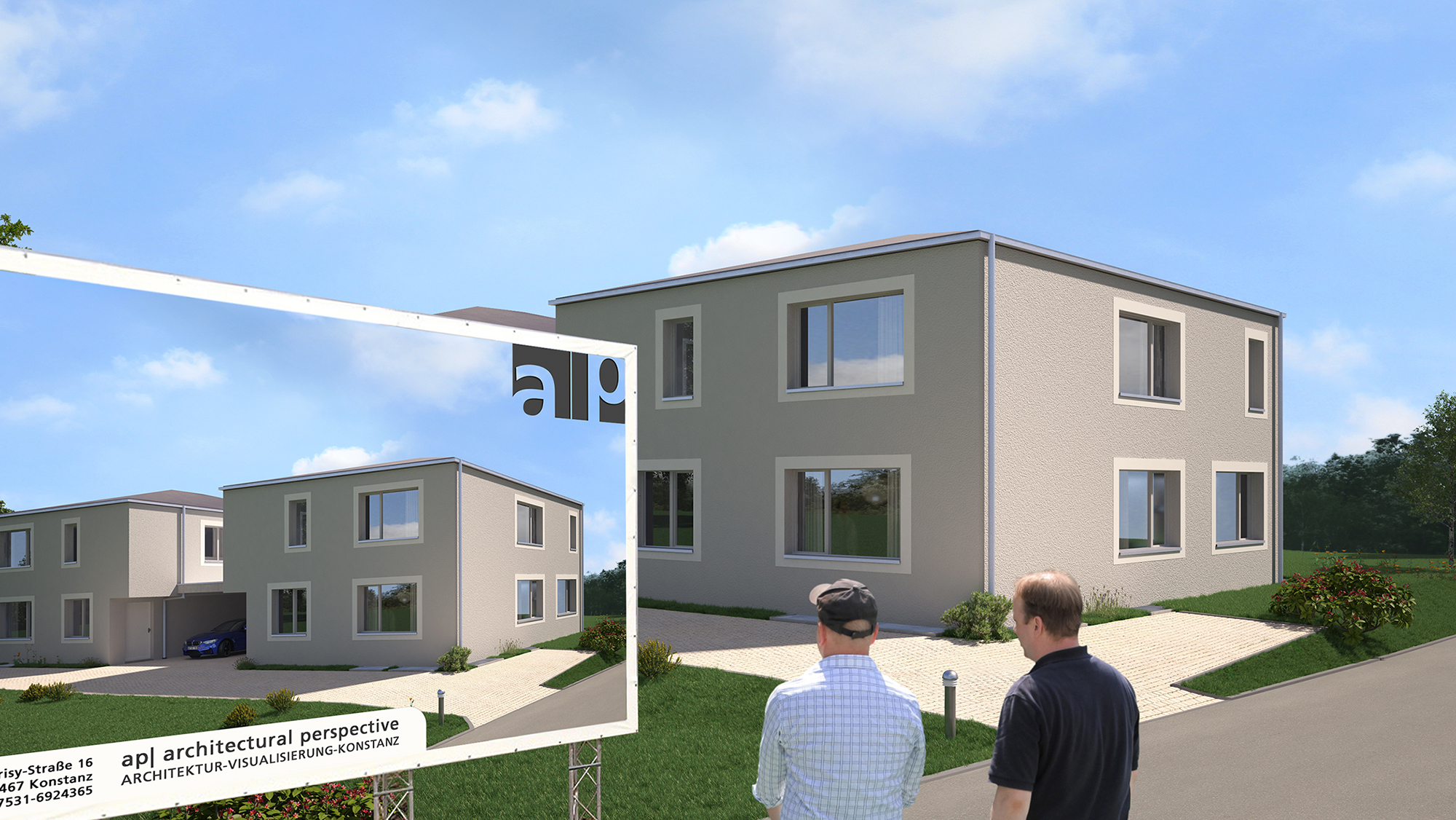 Anjana Perera Visualisierung Goldenägger, Amriswil HM-Architektur AG, Kreuzlingen