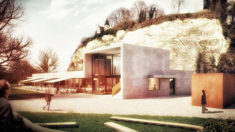 Anjana Perera Visualisierung - Café Wsestpark in Überlingen - Architekten Gruppe Überlingen GmbH