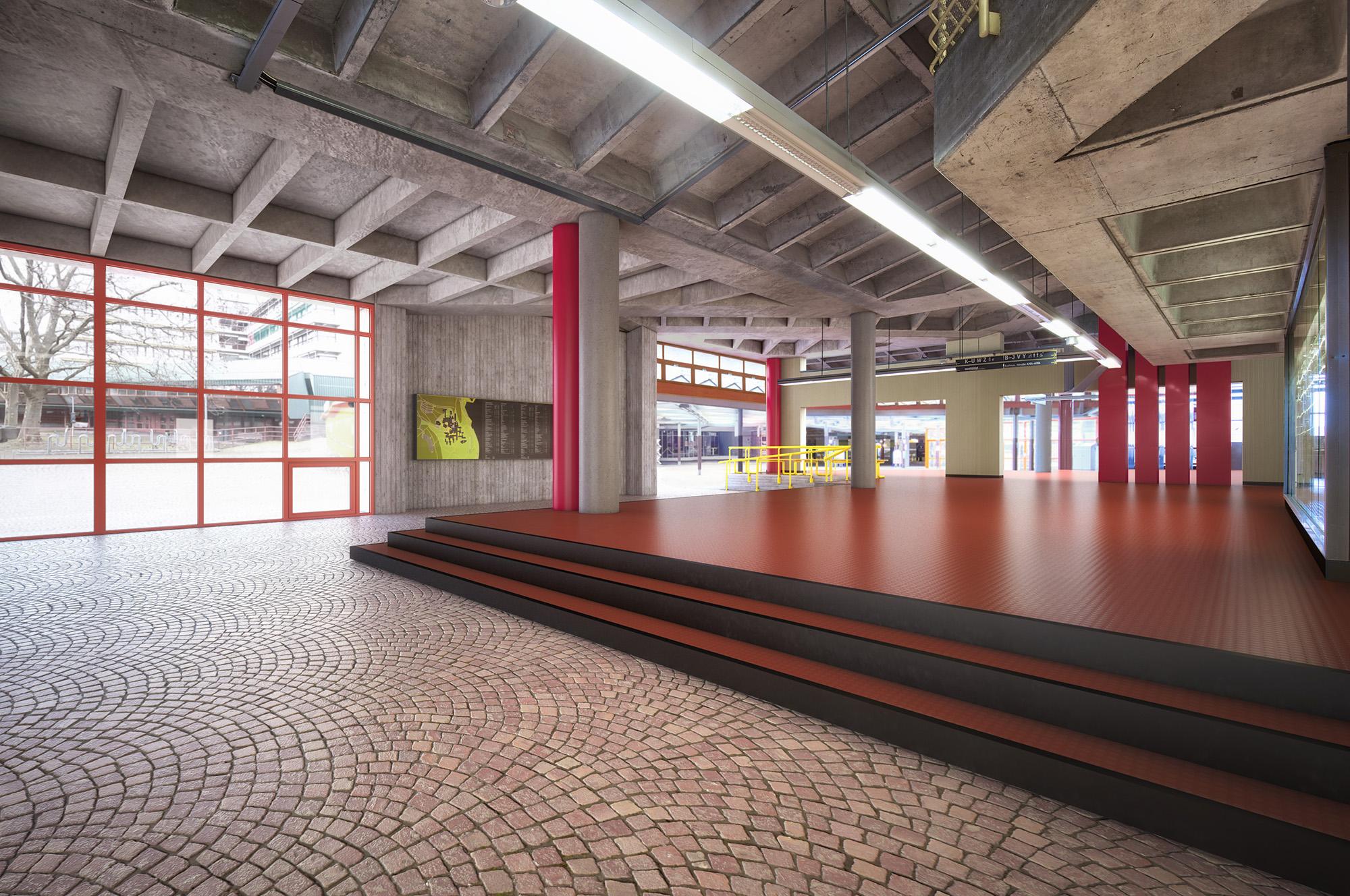 Anjana Perera Visualisierung -  Universität Konstanz - frm Architekten, Konstanz