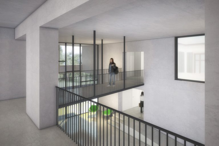 Anjana Perera Visualisierung - Schule Scherzingen - Jean Claude Mahler Architekt, Kreuzlingen